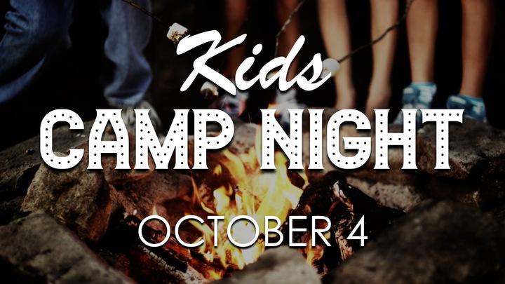 Kids Campout logo image