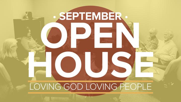 September Open House logo image