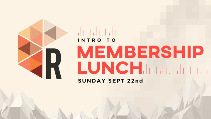 Intro to Membership Lunch logo image