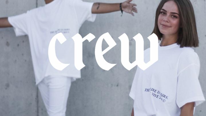 VIVE CREWS logo image