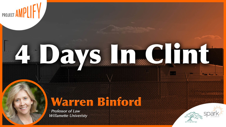 """4 Days In Clint"" with W. Warren Binford logo image"