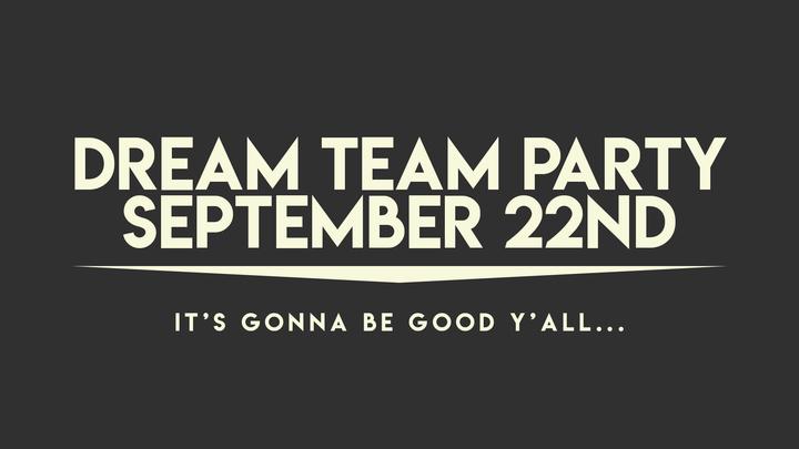 Dream Team Party 2019 logo image
