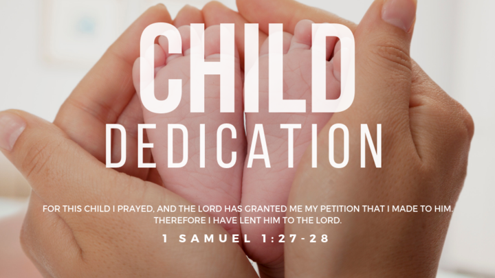 Child Dedication logo image