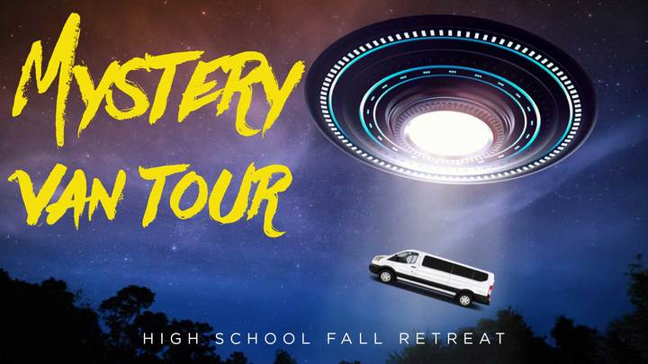 Mystery Van Tour- High School Fall Retreat logo image
