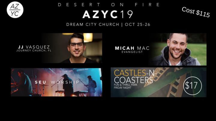Arizona Youth Convention 2019 logo image