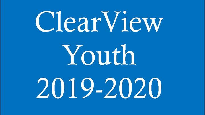 ClearView Youth Registration 2019-2020 logo image