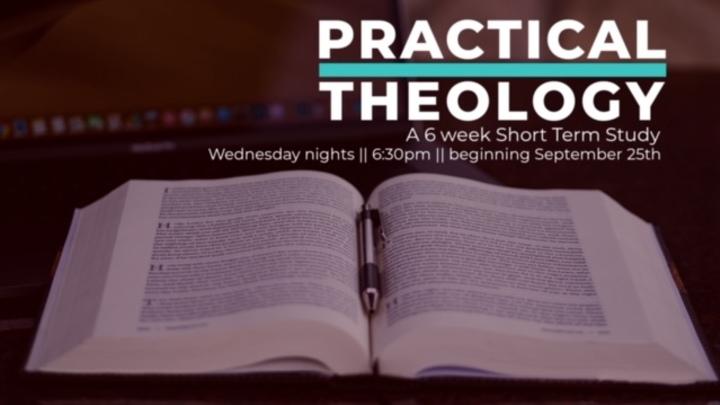Practical Theology, 6 week study logo image