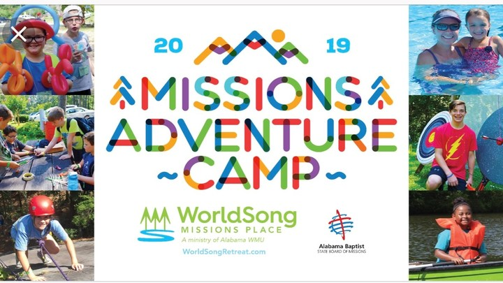 Children's Mission Festival at Camp Worldsong logo image