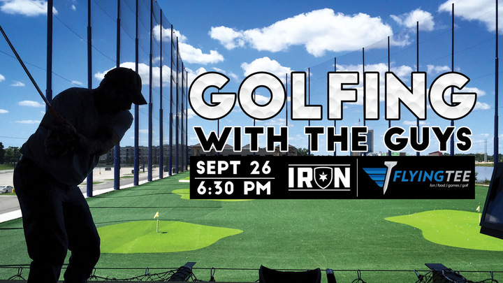 Iron at Flying Tee logo image