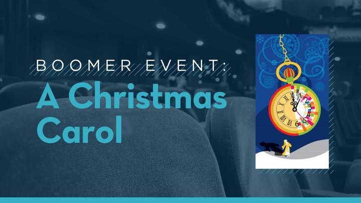 Boomer Event: A Christmas Carol - Zach Theater logo image