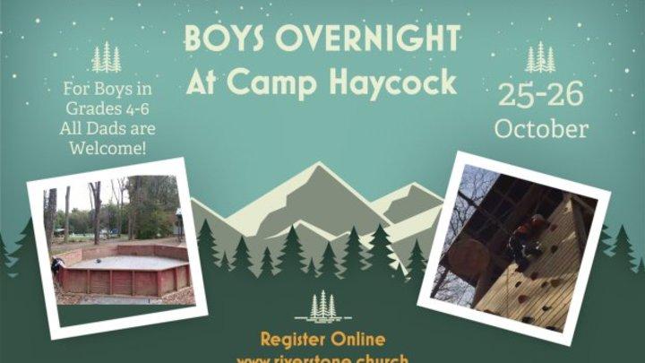 Boys Trip – Camp Haycock 2019 logo image