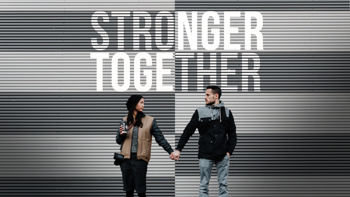 Stronger Together Marriage Conference logo image