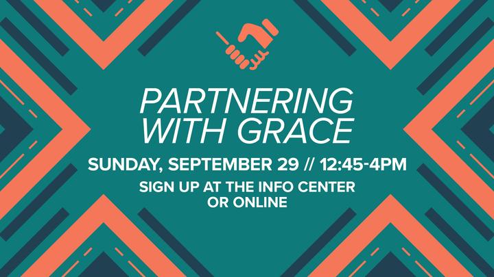 Saratoga 201: Partnering with Grace logo image