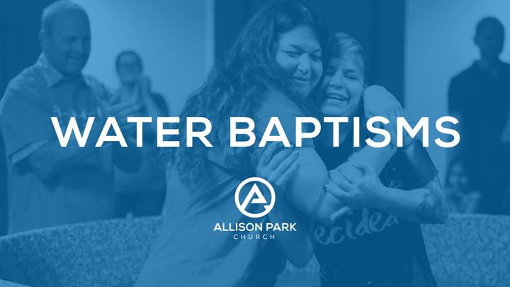 BUTLER | Water Baptisms logo image