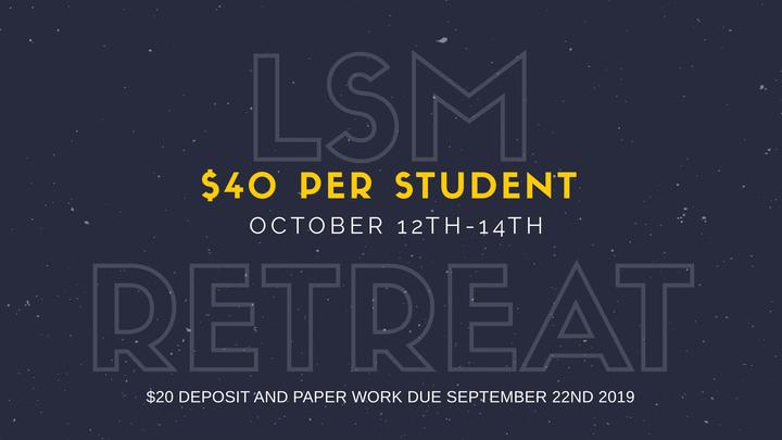 LSM Retreat (Fall) logo image