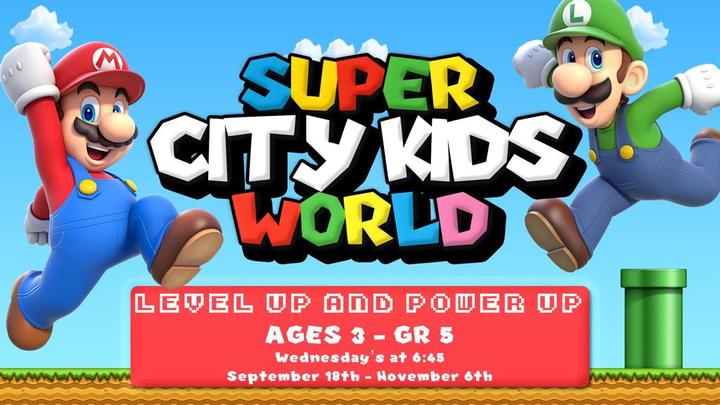 Super City Kids World logo image