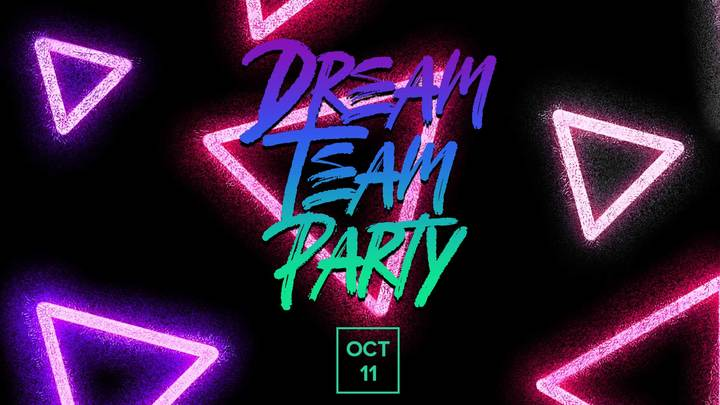 Dream Team Party | October 11 logo image