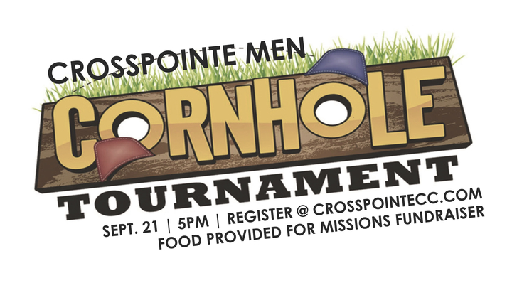 CrossPointe Men Cornhole Tournament logo image