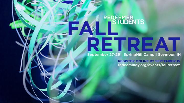 Redeemer Students Fall Retreat logo image