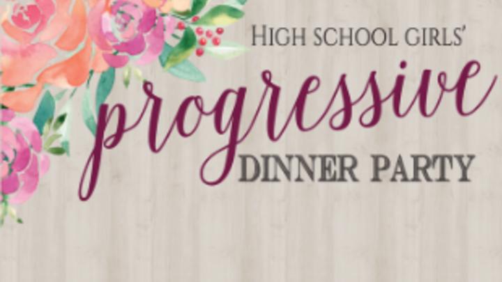 High School Girls' Progressive Dinner  logo image