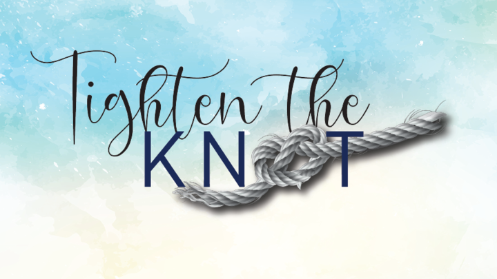 """""""Tighten the Knot"""" Marriage Retreat logo image"""