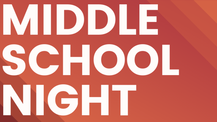 Middle School Night logo image