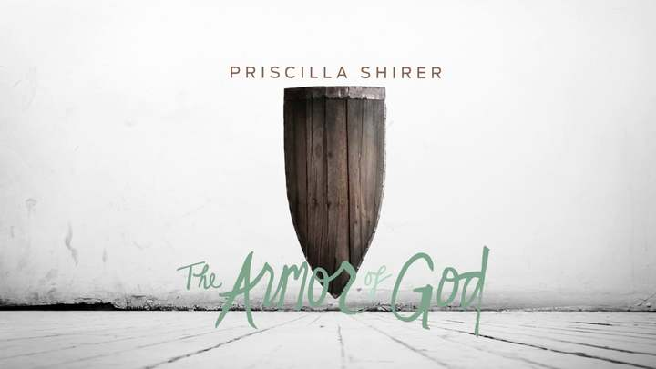"Pricilla Shirer's ""Armor of God"" logo image"