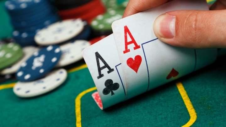 Mens Hangout (Poker Night) logo image