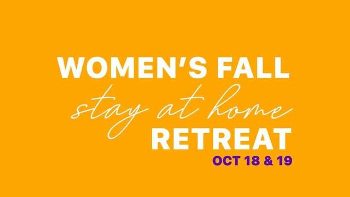 Women's Fall Stay at Home Retreat logo image