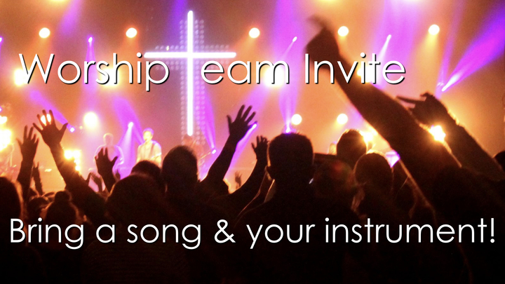 Worship Team Invite! logo image
