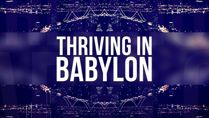 Men's Study Groups// Thriving in Babylon logo image
