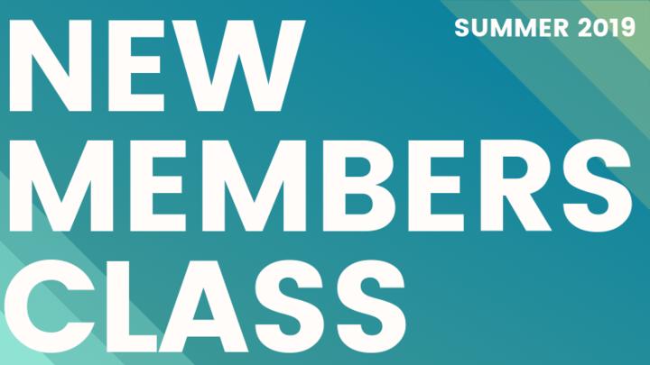 New Member Class - Fall 2019 logo image