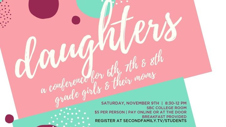 Daughters: A Middle School Girls Conference logo image