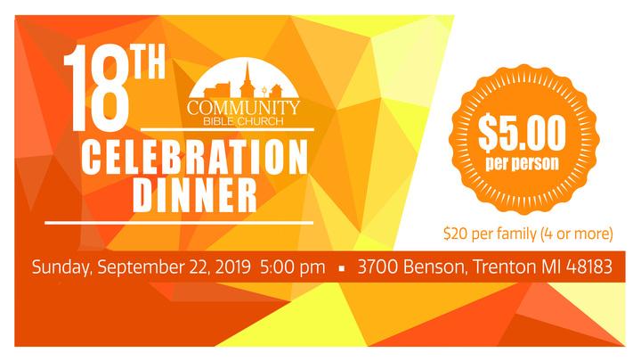 Celebration Dinner logo image
