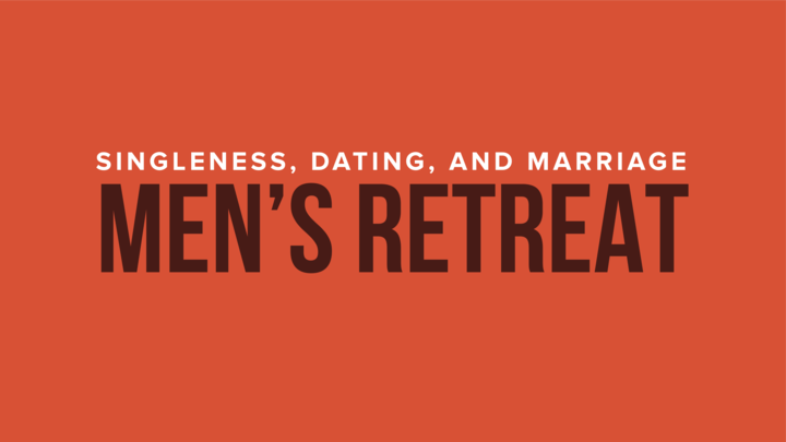 HR | Men's Retreat - Singleness, Dating, and Marriage logo image