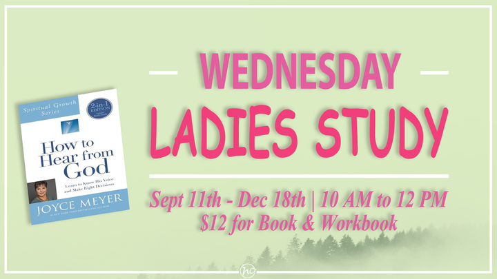 Ladies' Bible Study - How to Hear from God logo image