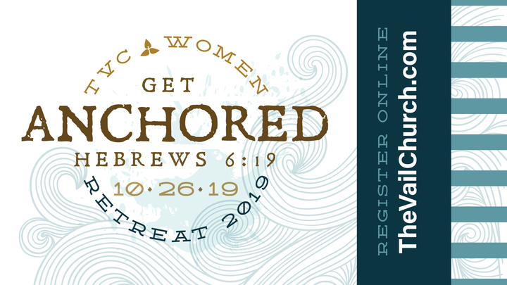 Women's Ministry Retreat:  Press Pause. Get Anchored. logo image