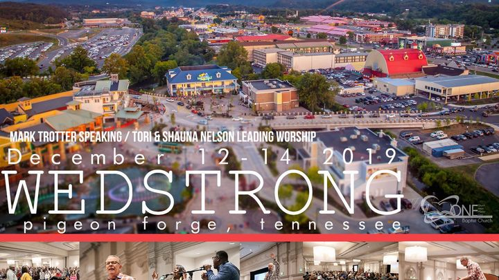 WedStrong Marriage Conference; Pigeon Forge, TN Dec. 12-14, 2019 logo image