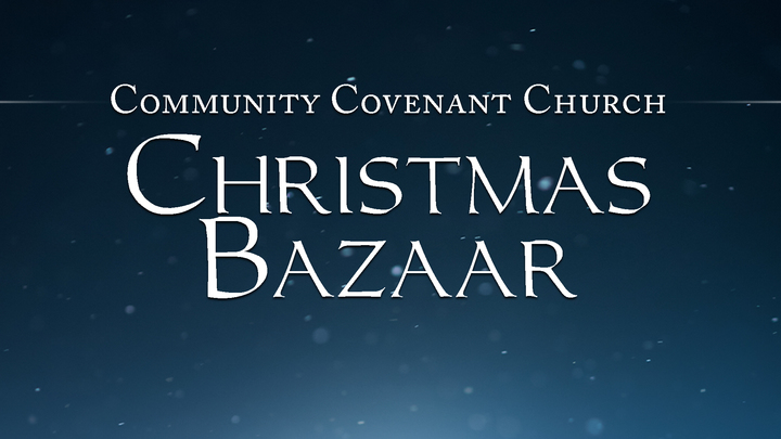 Christmas Bazaar Vendor Registration logo image