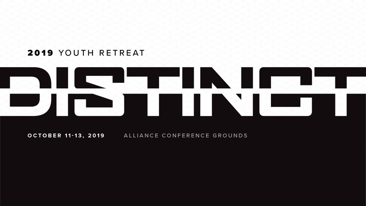 2019 Youth Retreat: DISTINCT logo image