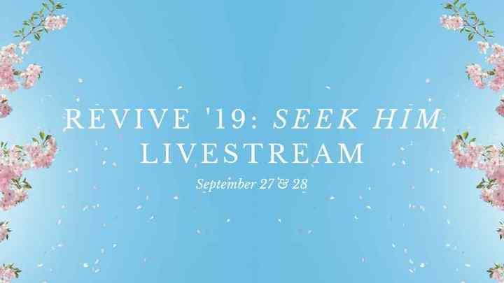 Revive Our Hearts Livestream Event logo image