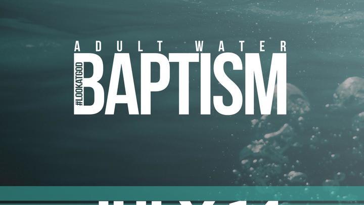 Adult Baptism  (De Pere Site) logo image