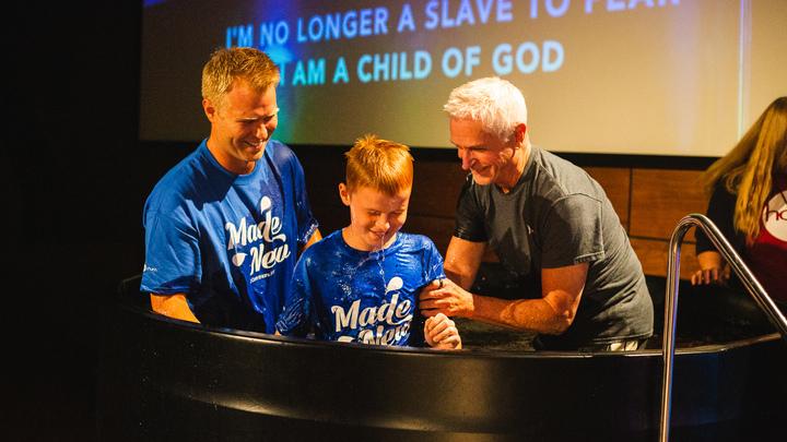 Water Baptism - Sunday, October 6 logo image