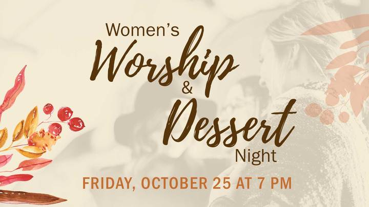 Women's Worship & Dessert Night logo image