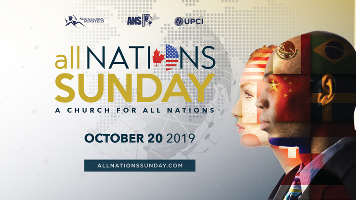 All Nations Sunday Service and Food Fair logo image