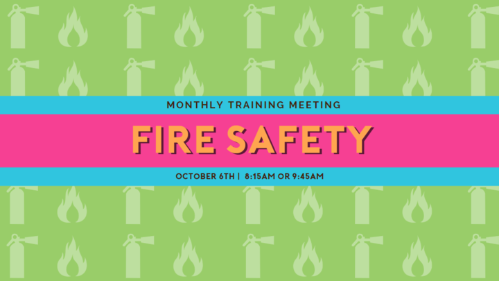 Children's Ministry Training - Fire Safety! logo image