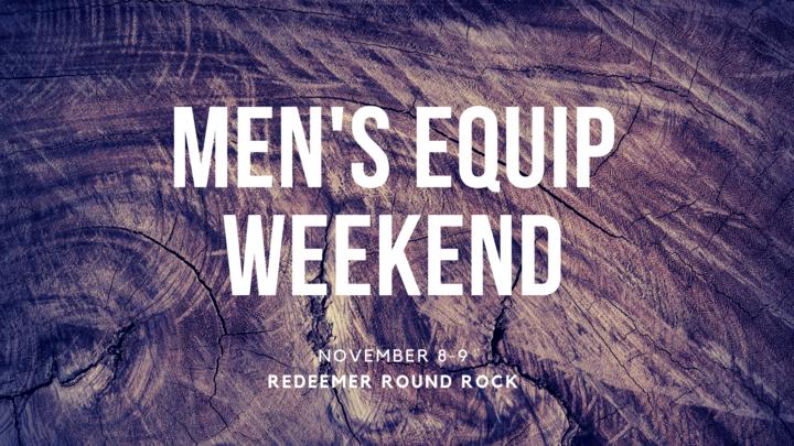 Men's Equip Weekend logo image