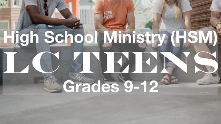 LC Teens HSM (Sunday Nights) logo image