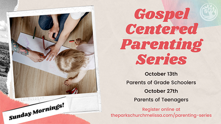 Gospel Centered Parenting Series logo image