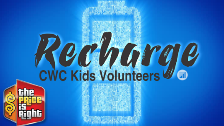 CWC Kids Volunteer Recharge logo image